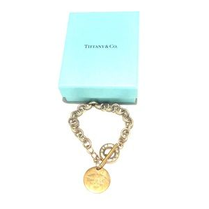 Return to Tiffany Circle Tag Toggle Bracelet